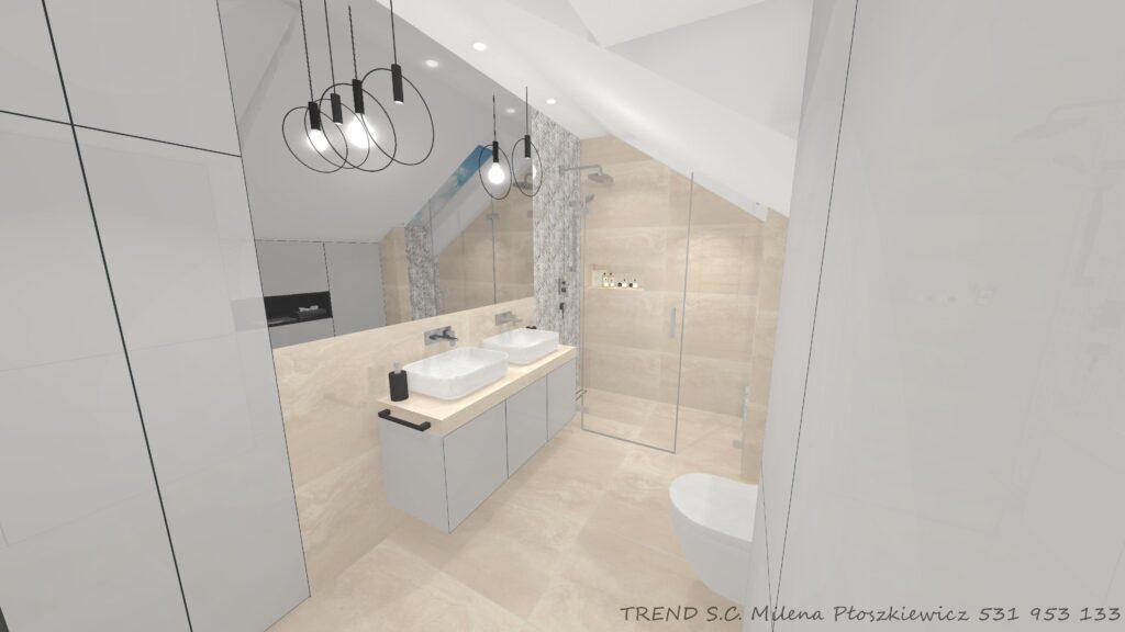 Projekty łazienek