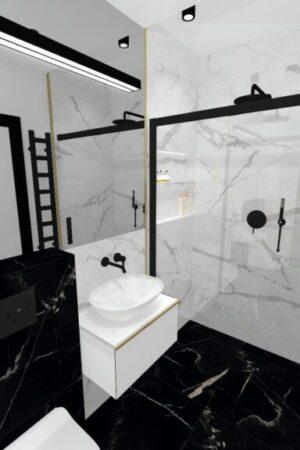Wizualizacj - łazienka mała - 1_12